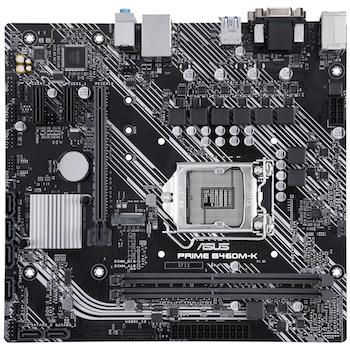 Product image of ASUS PRIME B460M-K LGA1200 mATX Desktop Motherboard - Click for product page of ASUS PRIME B460M-K LGA1200 mATX Desktop Motherboard