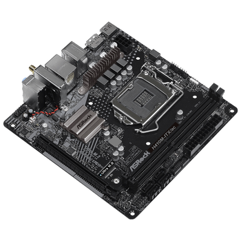 Product image of ASRock H410M-ITX/ac LGA1200 mITX Desktop Motherboard - Click for product page of ASRock H410M-ITX/ac LGA1200 mITX Desktop Motherboard