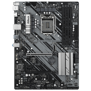 Product image of ASRock B460 Phantom Gaming 4 LGA1200 ATX Desktop Motherboard - Click for product page of ASRock B460 Phantom Gaming 4 LGA1200 ATX Desktop Motherboard