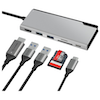 A product image of ALOGIC Ultra USB Type-C Universal Dock w/Power Delivery - Space Grey