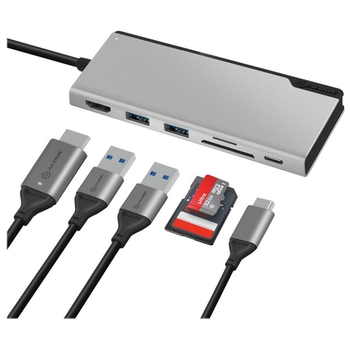 Product image of ALOGIC Ultra USB Type-C Universal Dock w/Power Delivery - Space Grey - Click for product page of ALOGIC Ultra USB Type-C Universal Dock w/Power Delivery - Space Grey
