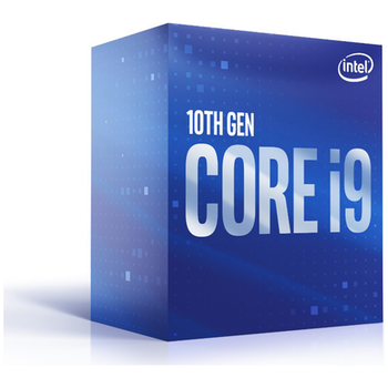 Product image of Intel Core i9 10900 2.8GHz Comet Lake 10 Core 20 Thread LGA1200 - Retail Box - Click for product page of Intel Core i9 10900 2.8GHz Comet Lake 10 Core 20 Thread LGA1200 - Retail Box