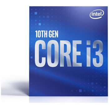 Product image of Intel Core i3 10100 3.6GHz Comet Lake 4 Core 8 Thread LGA1200 - Retail Box - Click for product page of Intel Core i3 10100 3.6GHz Comet Lake 4 Core 8 Thread LGA1200 - Retail Box