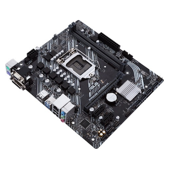 Product image of ASUS PRIME H410M-K LGA1200 mATX Desktop Motherboard - Click for product page of ASUS PRIME H410M-K LGA1200 mATX Desktop Motherboard