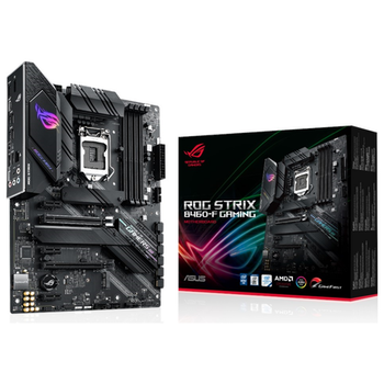 Product image of ASUS ROG Strix B460-F Gaming LGA1200 ATX Desktop Motherboard - Click for product page of ASUS ROG Strix B460-F Gaming LGA1200 ATX Desktop Motherboard