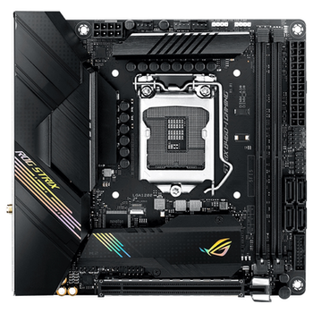 Product image of ASUS ROG Strix B460-I Gaming LGA1200 mITX Desktop Motherboard - Click for product page of ASUS ROG Strix B460-I Gaming LGA1200 mITX Desktop Motherboard