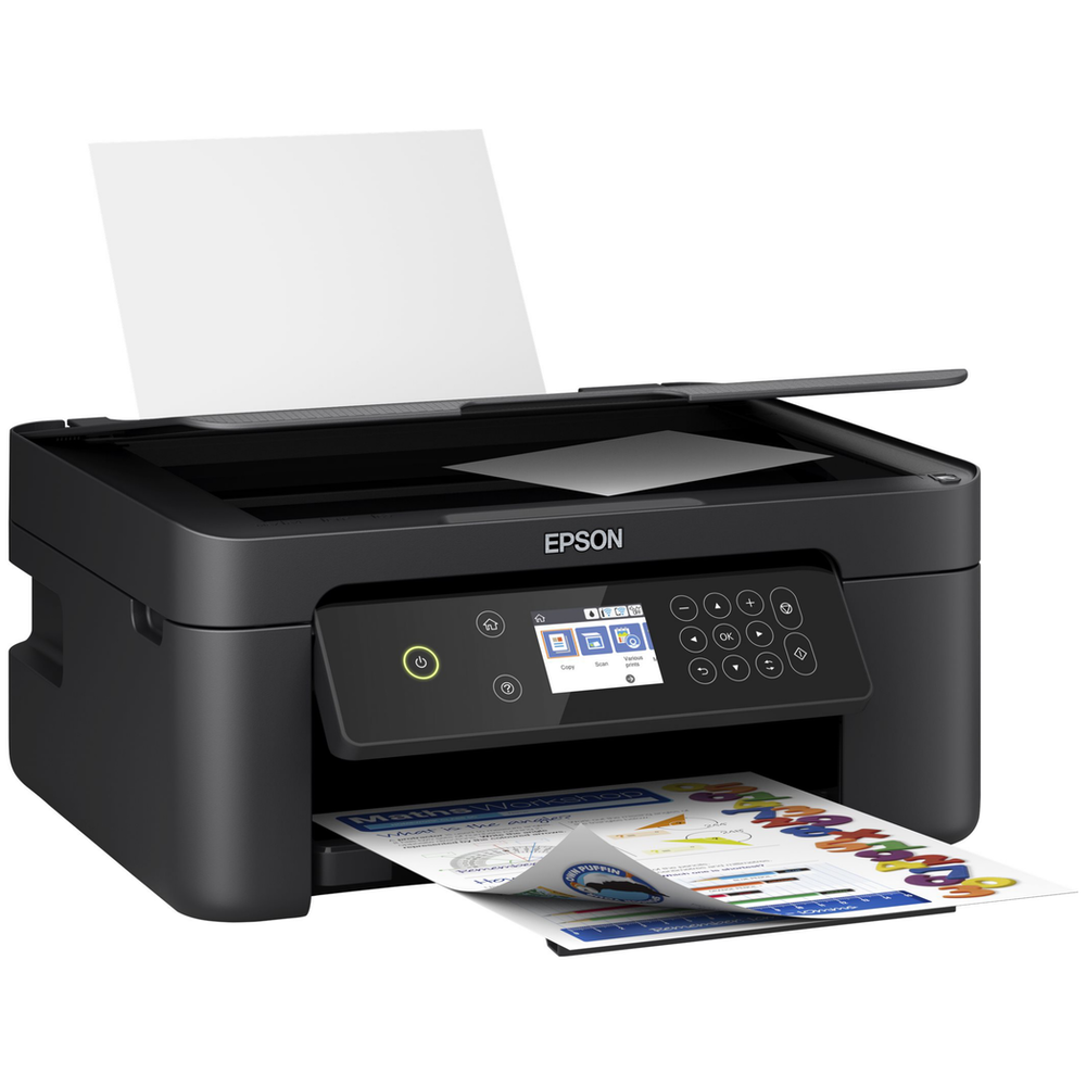 A large main feature product image of Epson XP-4100 Colour Inkjet Wireless Printer