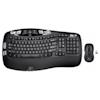 A product image of Logitech MK550 Wireless Wave Keyboard & Mouse Combo