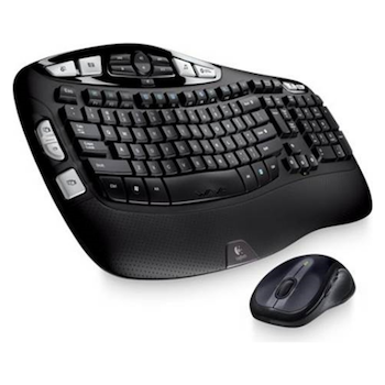 Product image of Logitech MK550 Wireless Wave Keyboard & Mouse Combo - Click for product page of Logitech MK550 Wireless Wave Keyboard & Mouse Combo