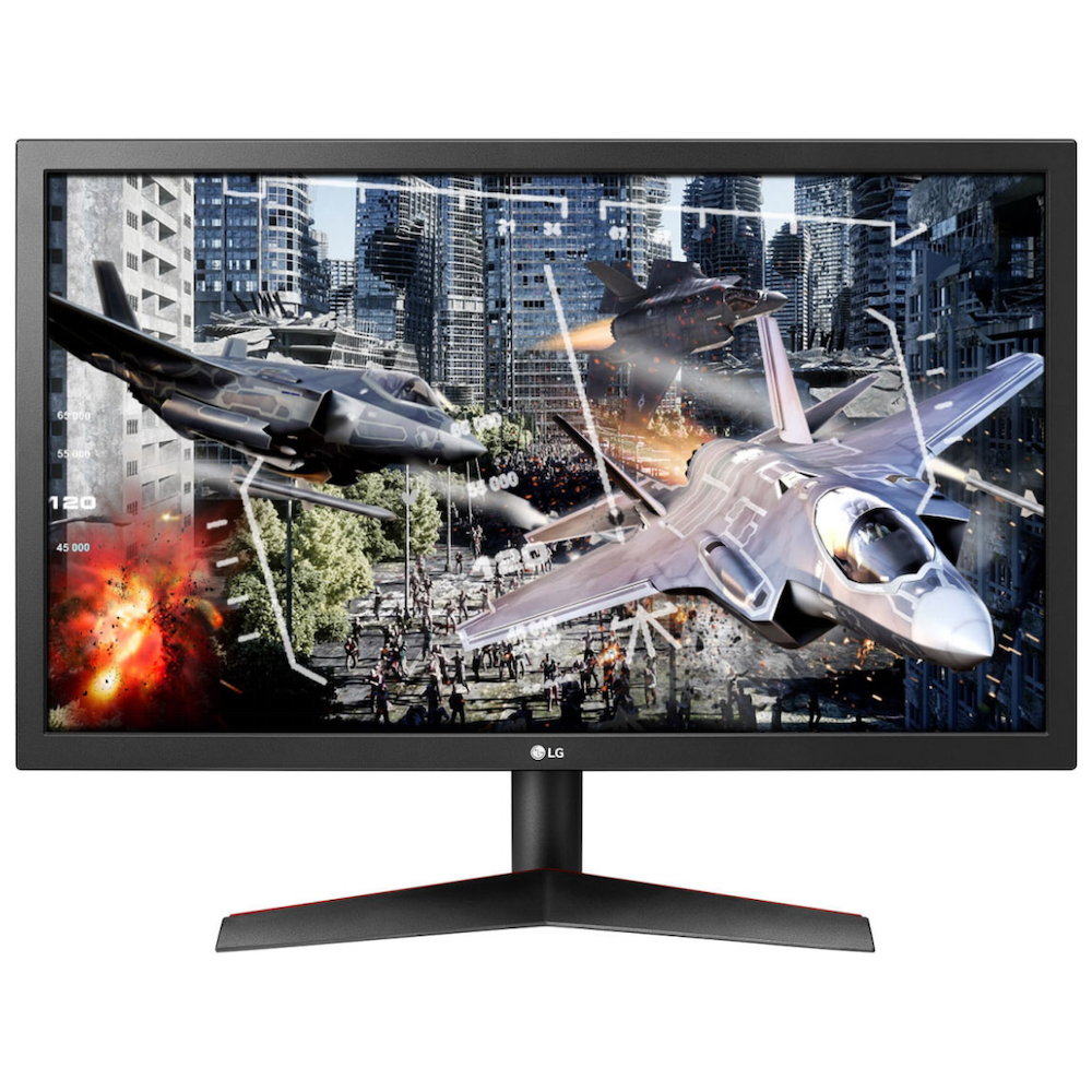 """A large main feature product image of LG UltraGear 24GL600F-B 24"""" Full HD FreeSync 144Hz 1MS LED Gaming Monitor"""
