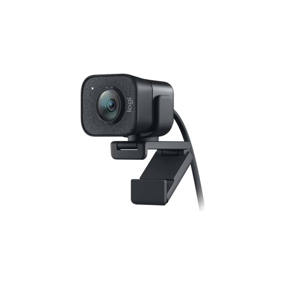 A large main feature product image of Logitech StreamCam 1080p HD USB-C Webcam - Graphite