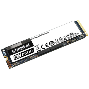 Product image of Kingston KC2500 250GB NVMe M.2 SSD - Click for product page of Kingston KC2500 250GB NVMe M.2 SSD