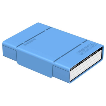Product image of ORICO  3.5 inch HDD Protective Storage Case - Blue - Click for product page of ORICO  3.5 inch HDD Protective Storage Case - Blue