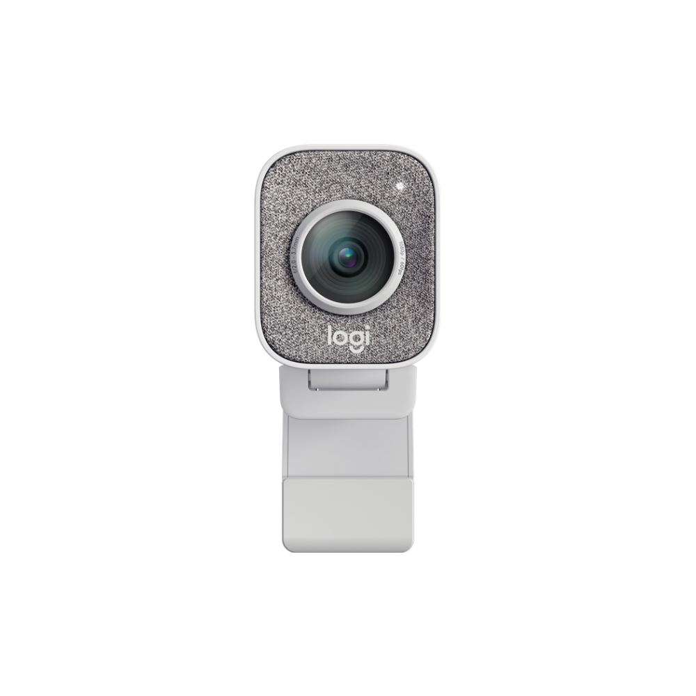 A large main feature product image of Logitech StreamCam 1080p HD USB-C Webcam - Off White