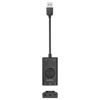 Product image of ORICO Multifunction USB External Sound Card - Click for product page of ORICO Multifunction USB External Sound Card