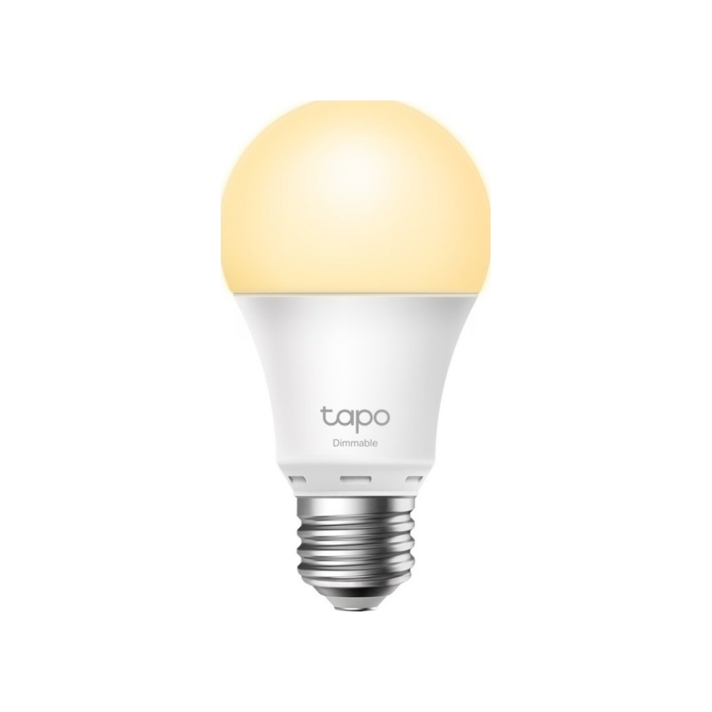 A large main feature product image of TP-LINK Tapo L510E Smart Bulb