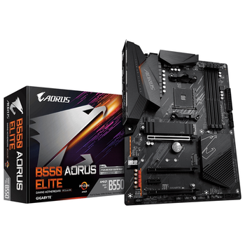 Product image of Gigabyte B550 Aorus Elite AM4 ATX Desktop Motherboard - Click for product page of Gigabyte B550 Aorus Elite AM4 ATX Desktop Motherboard