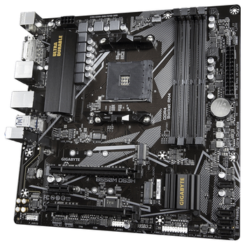Product image of Gigabyte B550M DS3H AM4 mATX Desktop Motherboard - Click for product page of Gigabyte B550M DS3H AM4 mATX Desktop Motherboard