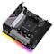 A small tile product image of ASRock B550 Phantom Gaming-ITX AX AM4 mITX Desktop Motherboard
