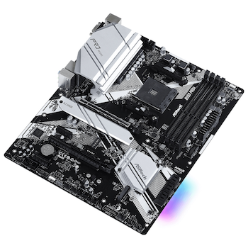Product image of ASRock B550 Pro4 AM4 ATX Desktop Motherboard - Click for product page of ASRock B550 Pro4 AM4 ATX Desktop Motherboard