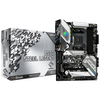 A product image of ASRock B550 Steel Legend AM4 ATX Desktop Motherboard