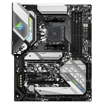 Product image of ASRock B550 Steel Legend AM4 ATX Desktop Motherboard - Click for product page of ASRock B550 Steel Legend AM4 ATX Desktop Motherboard