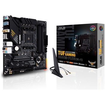 Product image of ASUS TUF Gaming B550M-PLUS WiFi AM4 mATX Desktop Motherboard - Click for product page of ASUS TUF Gaming B550M-PLUS WiFi AM4 mATX Desktop Motherboard