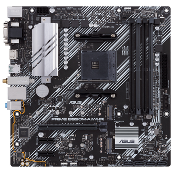 Product image of ASUS PRIME B550M-A WiFi AM4 mATX Desktop Motherboard - Click for product page of ASUS PRIME B550M-A WiFi AM4 mATX Desktop Motherboard