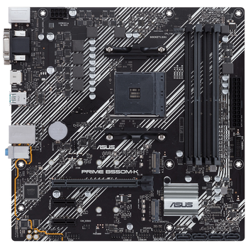 Product image of ASUS PRIME B550M-K AM4 mATX Desktop Motherboard - Click for product page of ASUS PRIME B550M-K AM4 mATX Desktop Motherboard