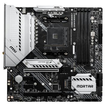 Product image of MSI MAG B550M Mortar WiFi AM4 mATX Desktop Motherboard - Click for product page of MSI MAG B550M Mortar WiFi AM4 mATX Desktop Motherboard