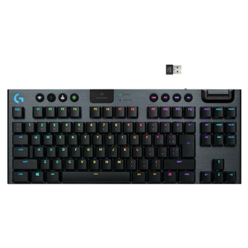 Product image of Logitech G915 TKL LIGHTSPEED Wireless RGB Mechanical Gaming Keyboard (Linear) - Click for product page of Logitech G915 TKL LIGHTSPEED Wireless RGB Mechanical Gaming Keyboard (Linear)