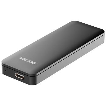 Product image of Volans Aluminium NVMe M.2 SSD to USB3.1 Gen 2 Type C Enclosure - Click for product page of Volans Aluminium NVMe M.2 SSD to USB3.1 Gen 2 Type C Enclosure