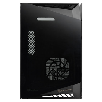 Product image of SilverStone LD03B-AF mITX Case w/Tempered Glass Side Panel - Click for product page of SilverStone LD03B-AF mITX Case w/Tempered Glass Side Panel
