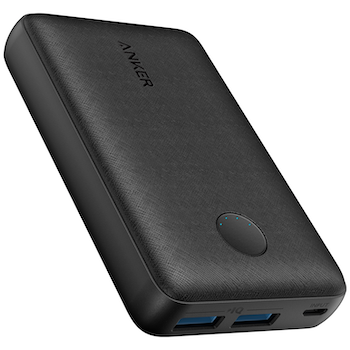 Product image of ANKER PowerCore Select 10000mAh Black Power Bank - Click for product page of ANKER PowerCore Select 10000mAh Black Power Bank