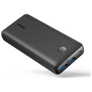 Product image of ANKER PowerCore Select 20000mAh  Black Power Bank - Click for product page of ANKER PowerCore Select 20000mAh  Black Power Bank
