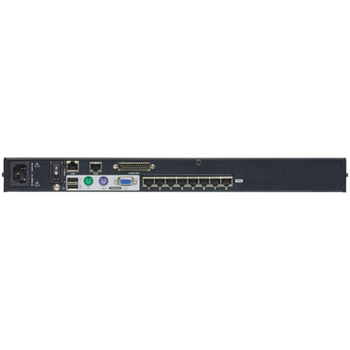Product image of ATEN 1-Console High Density Cat 5 KVM Over IP 8 Port with Daisy-Chain Port - Click for product page of ATEN 1-Console High Density Cat 5 KVM Over IP 8 Port with Daisy-Chain Port