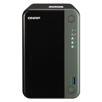 Product image of QNAP TS-253D 2.0Ghz 4GB 2 Bay NAS Enclosure - Click for product page of QNAP TS-253D 2.0Ghz 4GB 2 Bay NAS Enclosure