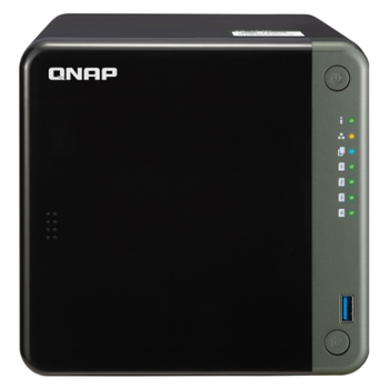 Product image of QNAP TS-453D 2.0Ghz 4GB 4 Bay NAS Enclosure - Click for product page of QNAP TS-453D 2.0Ghz 4GB 4 Bay NAS Enclosure