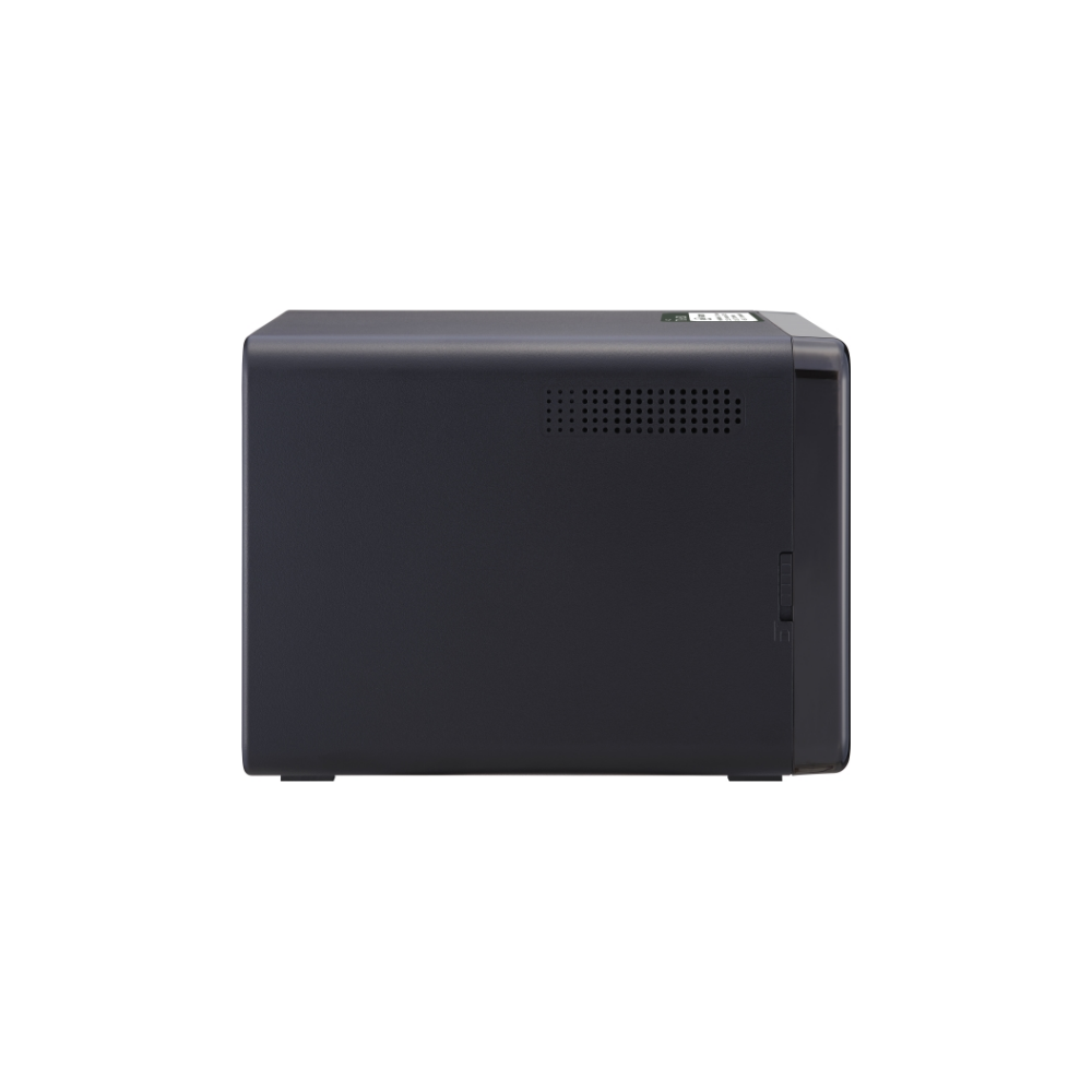 A large main feature product image of QNAP TS-653D 2.0Ghz 4GB 6 Bay NAS Enclosure