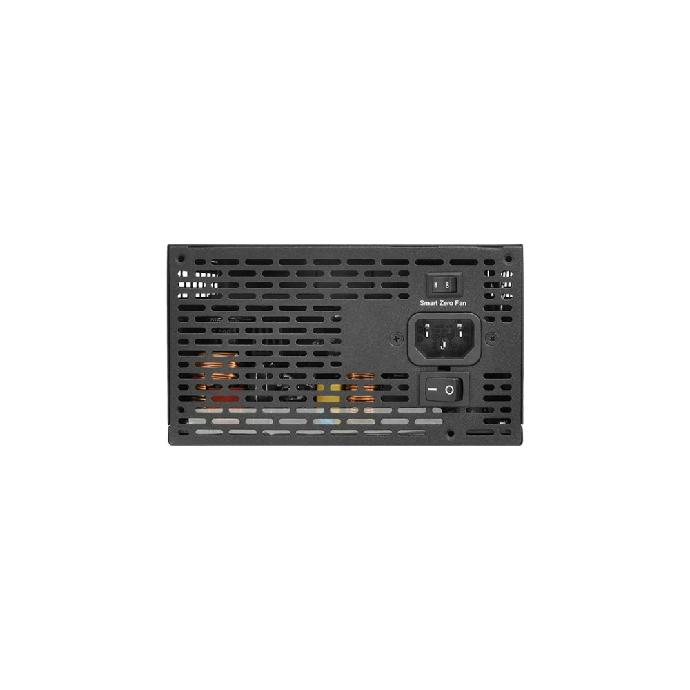 A large main feature product image of Thermaltake Toughpower PF1 650W 80Plus Platinum Fully Modular Power Supply
