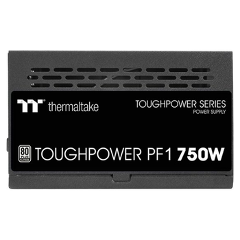 Product image of Thermaltake Toughpower PF1 750W 80Plus Platinum Fully Modular Power Supply - Click for product page of Thermaltake Toughpower PF1 750W 80Plus Platinum Fully Modular Power Supply