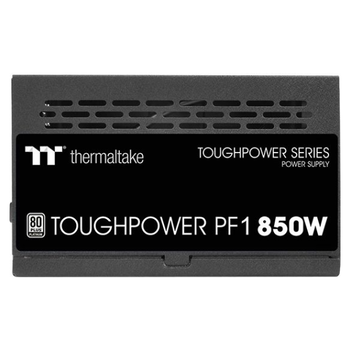 Product image of Thermaltake Toughpower PF1 850W 80Plus Platinum Fully Modular Power Supply - Click for product page of Thermaltake Toughpower PF1 850W 80Plus Platinum Fully Modular Power Supply