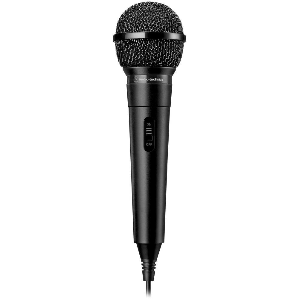 A large main feature product image of Audio Technica ATR1100x Unidirectional Dynamic Vocal Microphone