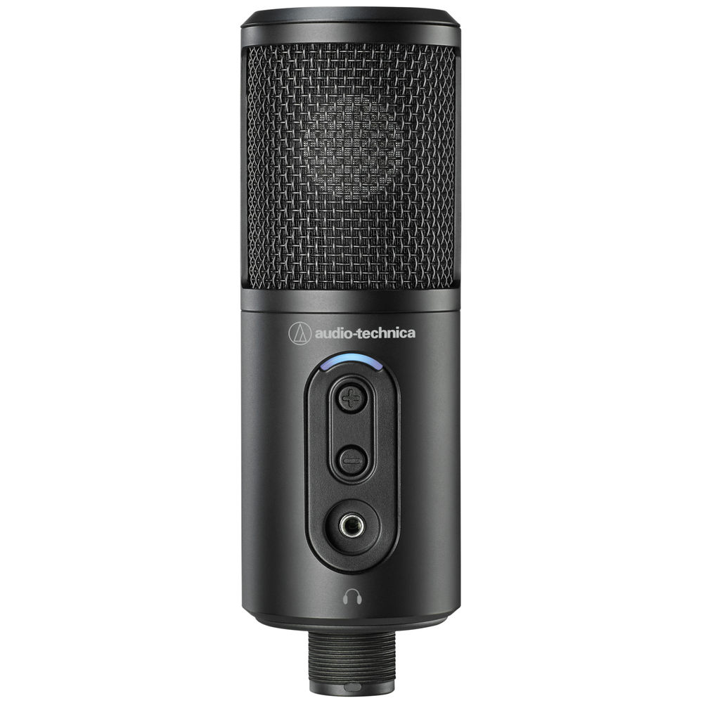 A large main feature product image of Audio Technica ATR2500x-USB Cardiod Condenser USB Microphone