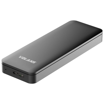 Product image of Volans Aluminium USB3.0 to M.2 NGFF SSD Mini External Enclosure - Click for product page of Volans Aluminium USB3.0 to M.2 NGFF SSD Mini External Enclosure