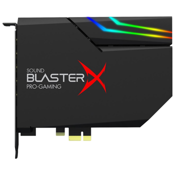 Product image of Creative Sound BlasterX AE-5 Plus Hi-Res PCIe Gaming Sound Card - Click for product page of Creative Sound BlasterX AE-5 Plus Hi-Res PCIe Gaming Sound Card
