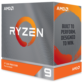 Product image of AMD Ryzen 9 3900XT 3.8Ghz 12 Core 24 Thread AM4 - No HSF Retail Box - Click for product page of AMD Ryzen 9 3900XT 3.8Ghz 12 Core 24 Thread AM4 - No HSF Retail Box