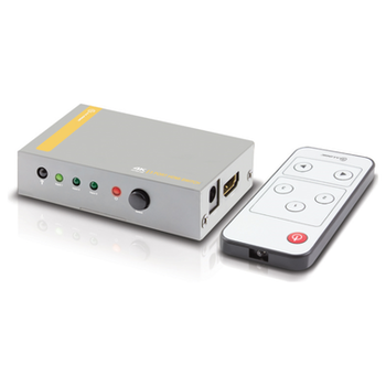 Product image of EX-DEMO ALOGIC 3 Port HDMI 2.0 4K Switch w/Wireless Controller - Click for product page of EX-DEMO ALOGIC 3 Port HDMI 2.0 4K Switch w/Wireless Controller