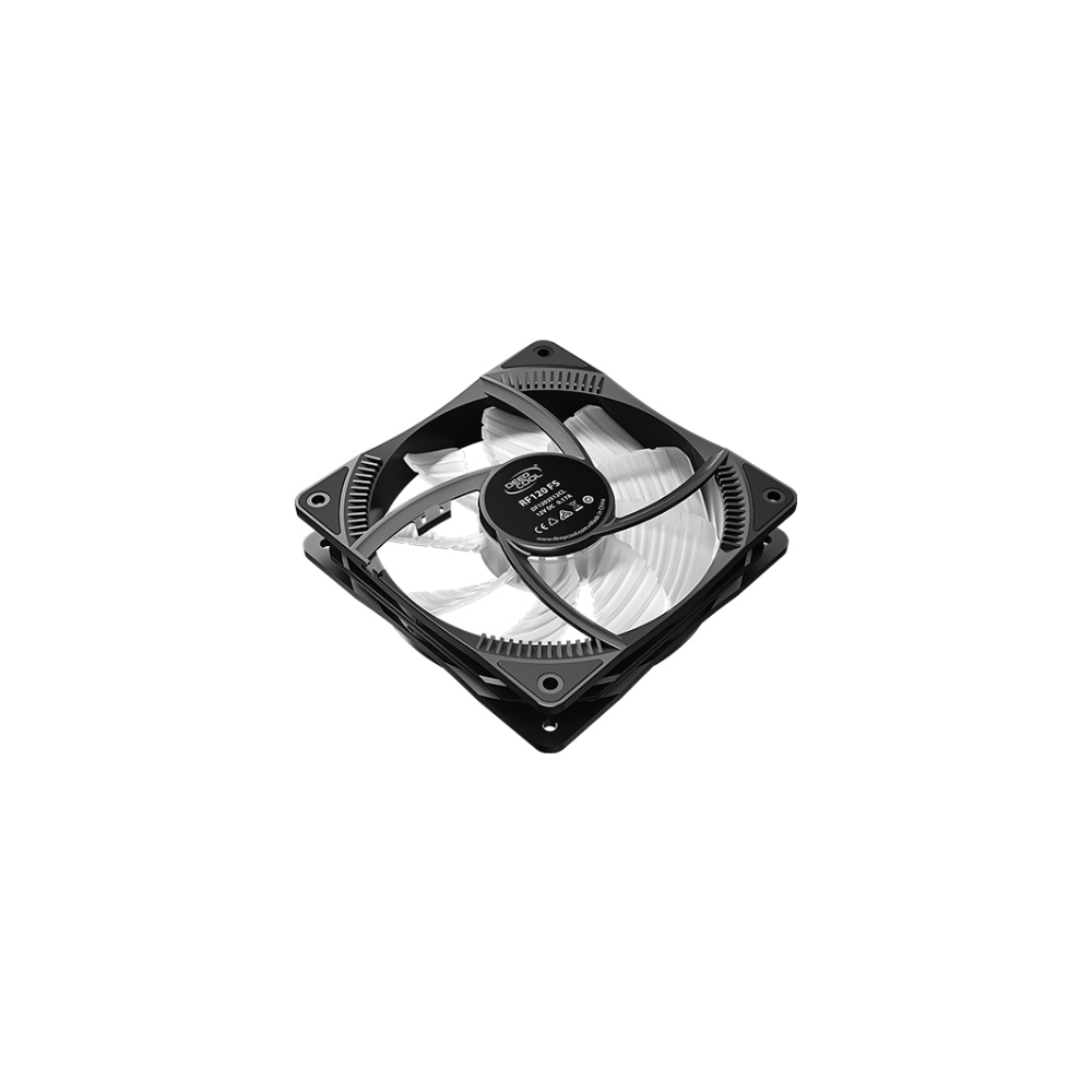 A large main feature product image of Deepcool RF120 FS 3 in 1 120mm Case Fan Pack