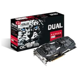 Product image of ASUS Radeon RX 580 DUAL OC 8GB GDDR5 - Click for product page of ASUS Radeon RX 580 DUAL OC 8GB GDDR5